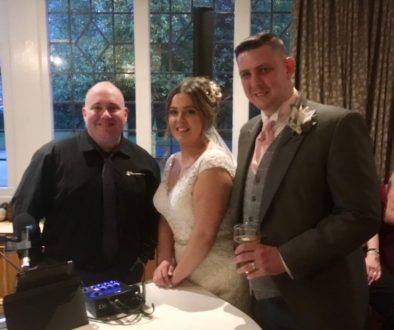 Mark the piano guy with Mr and Mrs Kirkby-Richardson at Mere Court